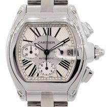 Cartier 2618 Roadster Chronograph in Steel - On Steel Bracelet...
