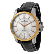 Maurice Lacroix Date Automatic Dial 18Kt Rose Gold Mens Watch...