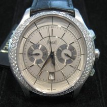 Piaget Gouverneur Chronograph Automatic Diamonds