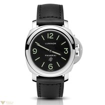 Panerai Luminor Base Logo Acciaio Stainless Steel Men's Watch