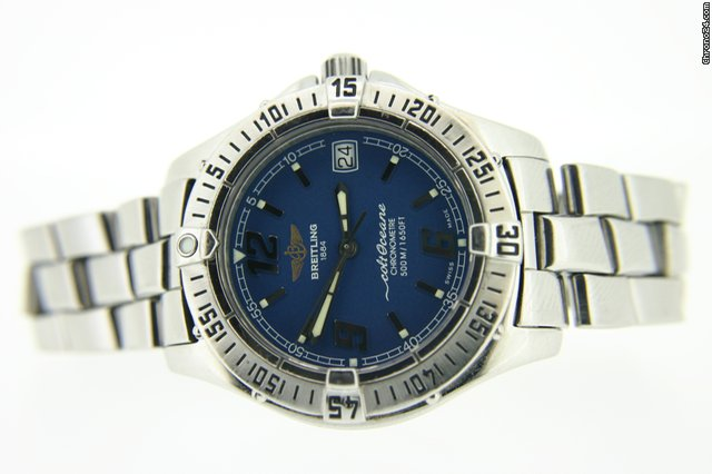 Breitling Ladies Colt Ocean A57350 Stainless Steel