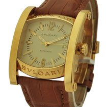 Bulgari AA44C13GLD Assioma 44mm Automatic - Yellow Gold on...