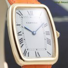 Cartier Tonneau 18k Yellow Gold on Leather Strap Ladie's...