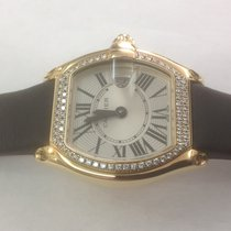 Cartier Roadster yellow gold whit diamonds 2676