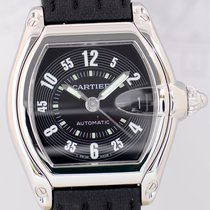 Cartier Roadster Stahl black dial Automatik Sportlich Dresswatch