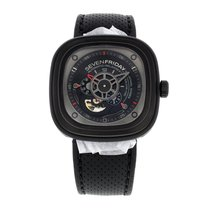 Sevenfriday Men's P-series Black Automatic Watch SF-SF P3/01