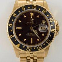 Rolex 1984 Rolex 18k Yellow Gold GMT Master Men's Watch...