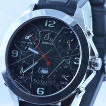 Jacob & Co. 5 Time Zone Quartz Herren Uhr Jumbo 57mm Top...