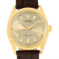 Rolex Oyster Perpetual 18k Yellow Gold Vintage Chronometer...