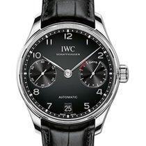IWC Schaffhausen IW500703 Portugieser Automatic Black Arabic...