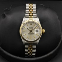 Rolex Datejust - 69173 - 18k/SS - Silver Index Dial - 26mm -...