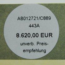 Breitling unverb. Preis-empfehlung Aufkleber