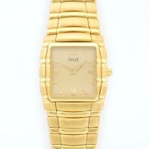 Piaget Yellow Gold Tanagra Mechanical Bracelet Watch