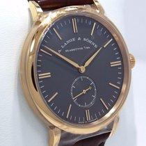 A. Lange & Söhne Saxonia 216.033 18k Rose Gold 37mm Rare...