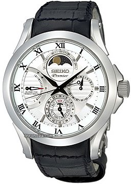 Seiko Kinetic Direct Drive Mondphase Serie: Premier,