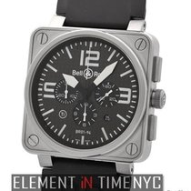Bell & Ross Aviation Titanium Chronograph Carbon Fiber...
