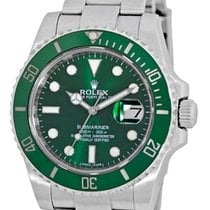 "勞力士 (Rolex) Anniversary Ceramic Green Bezel ""Submariner&#3..."