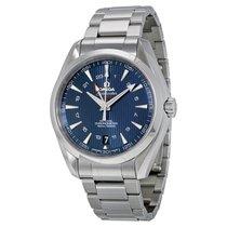 Omega Aqua Terra Blue Dial Stainless Steel Men's Watch...