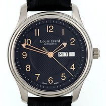 Louis Erard Heritage Day Date Stahl Automatik 40mm