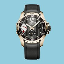 Chopard Classic Racing Superfast Power Control Roségold Kautschuk