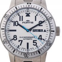 Fortis B-42 Marinemaster Day Date Stahl Automatik 42mm