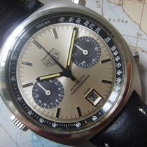 Heuer 1970s Beautiful Automatic Heuer Carrera Chronograph Ref...