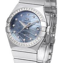 Omega Constellation Brushed Chronometer Pluma