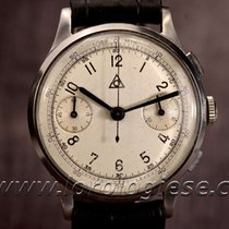 Alpina Dugena 1940`s Angelus Chronograph Vintage Cal. 215