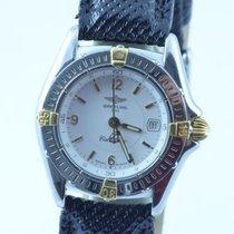 Breitling Callistino Damen Uhr 28mm Rar Stahl/gold Rar Quartz...