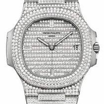 Patek Philippe Jumbo Nautilus with Full Diamonds