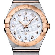 Omega Constellation Brushed 24mm 123.20.24.60.55.001