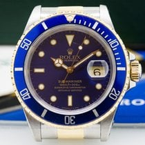 Rolex 16613 Submariner Blue Dial SS / 18K (24721)