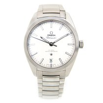 Omega Constellation Stainless Steel White Automatic 130.30.39....