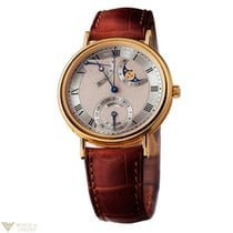 Breguet Classique Power Reserve 18k Yellow Gold Men`s Watch