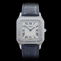 Cartier Santos Dumont Paris Platinum Unisex 2423