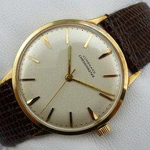 Junghans Chronometer Handaufzug - Gold 585 / 14K - Cal. 85/10