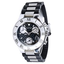 Cartier Chronoscaph 2996 Women's Watch in Stainless Steel