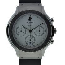 Hublot Classic Chronograph Stainless Steel With White Dial On...