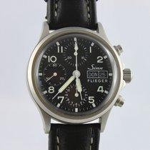 Sinn Flieger Chronograph 356.020 Bj.2001 +Papiere+Verpackung