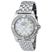 Breitling Galactic 36 Mother of Pearl Dial Diamond Unisex...
