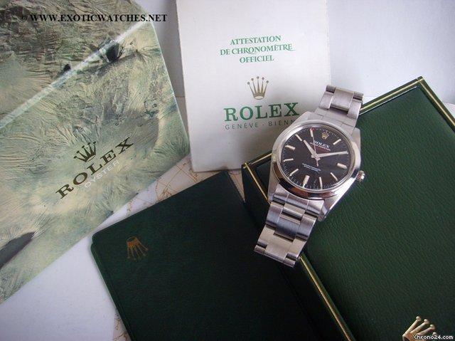 Rolex Vintage Milgauss 1019 Box Papers
