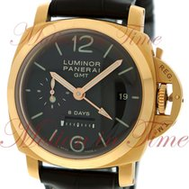 "Panerai Luminor 1950 8-Day GMT ""Oro Rosa"", Brown Dial,..."
