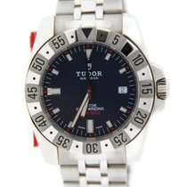 Tudor Rotor Blue Dial Automatic Stainless Steel