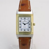 Jaeger-LeCoultre 18ct Gold & Steel Reverso Ladies Manual Wind