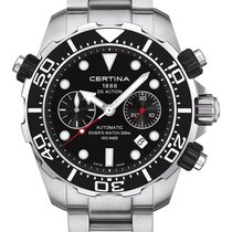 Certina DS Action Diver Chronograph Farbe Schwarz