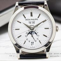 Patek Philippe 5396G-011 Annual Calendar Silver Dial 18K White...