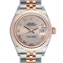 Rolex Datejust Lady Stahl 18kt Roségold Everose Automatik...