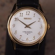 Seiko Lord Marvel 36000 Gold Plate Men 35mm Manual 1970...