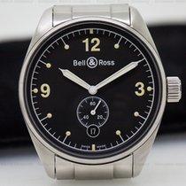 Bell & Ross V123 Vintage 123 Black Dial SS / SS (25947)