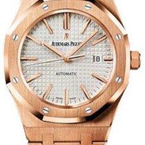 Audemars Piguet Royal Oak 41mm - rose gold - silver dial on...